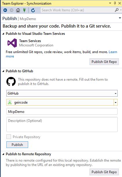 geircode -  net and Docker