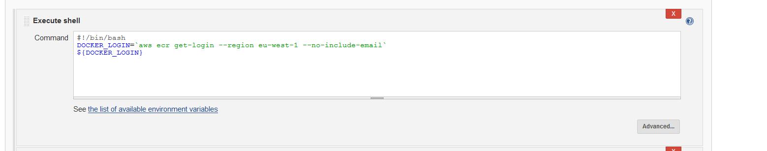 Setting up Amazon ECS CI/CD with Jenkins - geircode