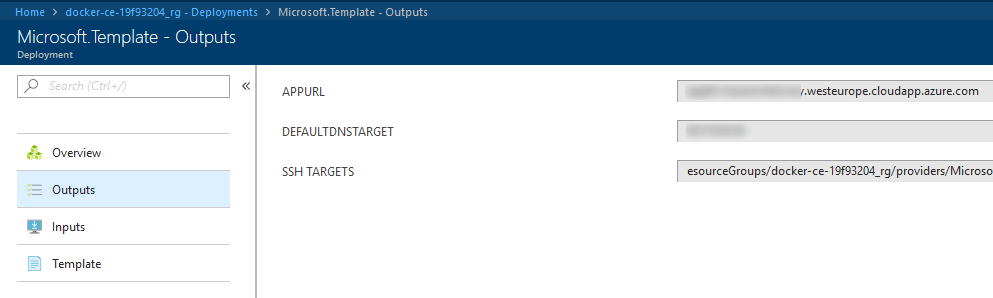 Setting up Docker Community Edition Swarm on Azure - geircode